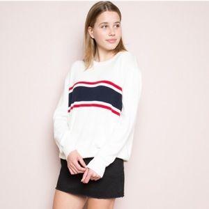 Brandy Melville Stripe Sweater